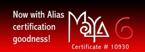Maya 6 Transition Certified!